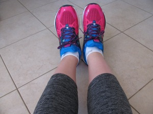 Picked up these Brooks from the local Running Room. Feels like walking/running on air!